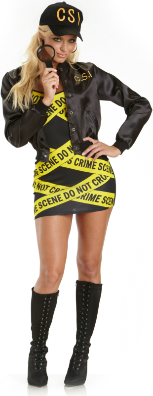 CSI Adult Costume