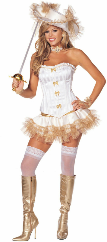 Hollywood Musketeer Adult Costume