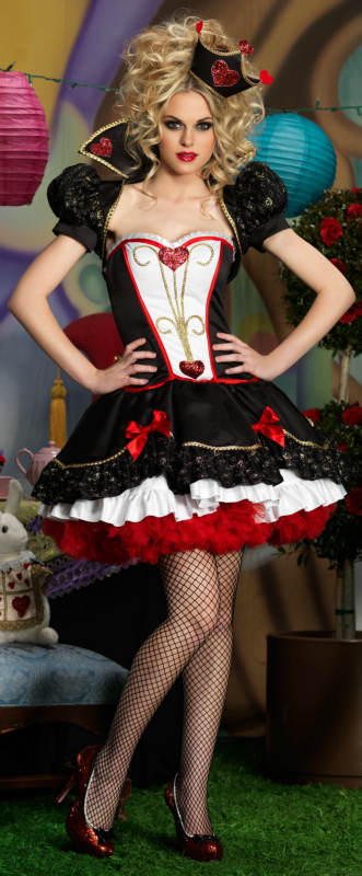 Wonderland Queen Deluxe Adult Costume