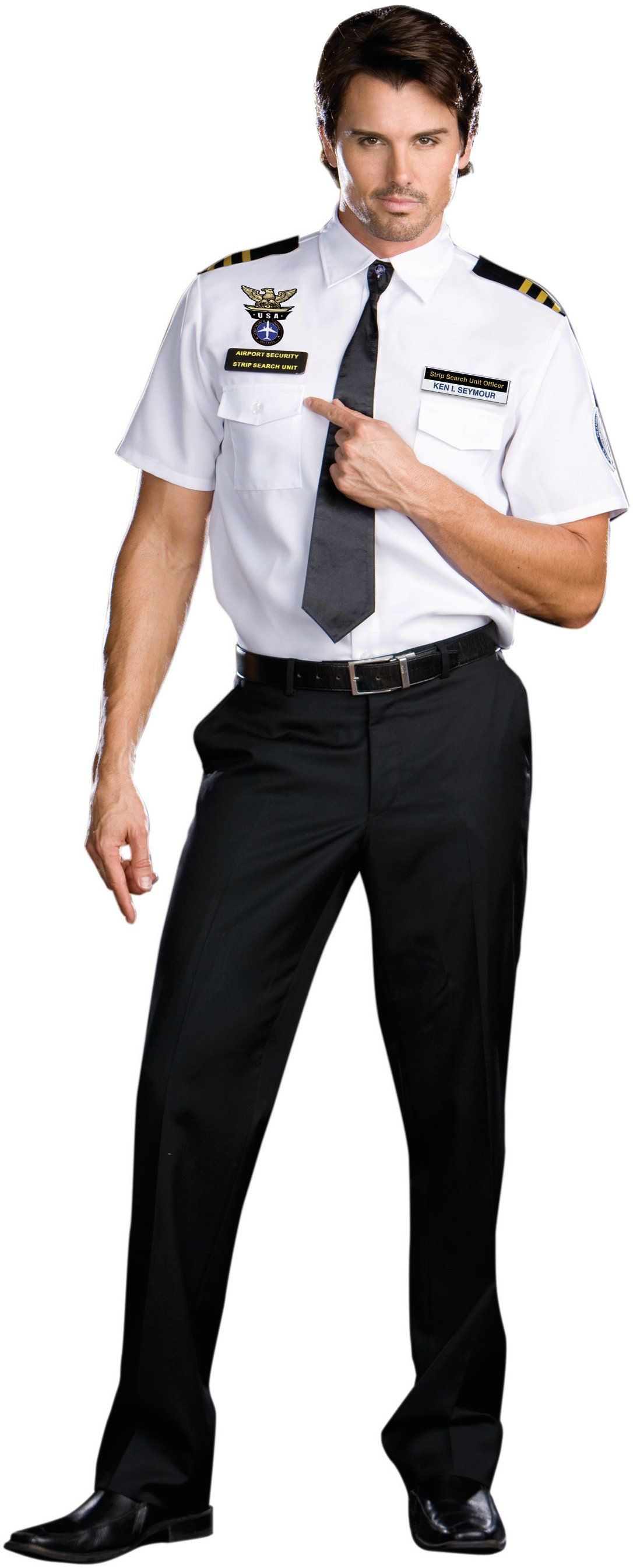 Strip Search Officer: Ken I. Seymour Adult Costume