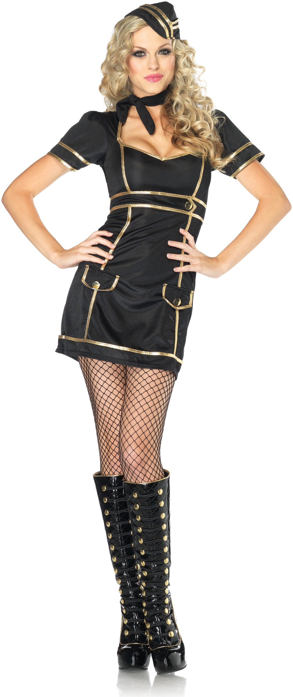 Sultry Stewardess Adult Costume