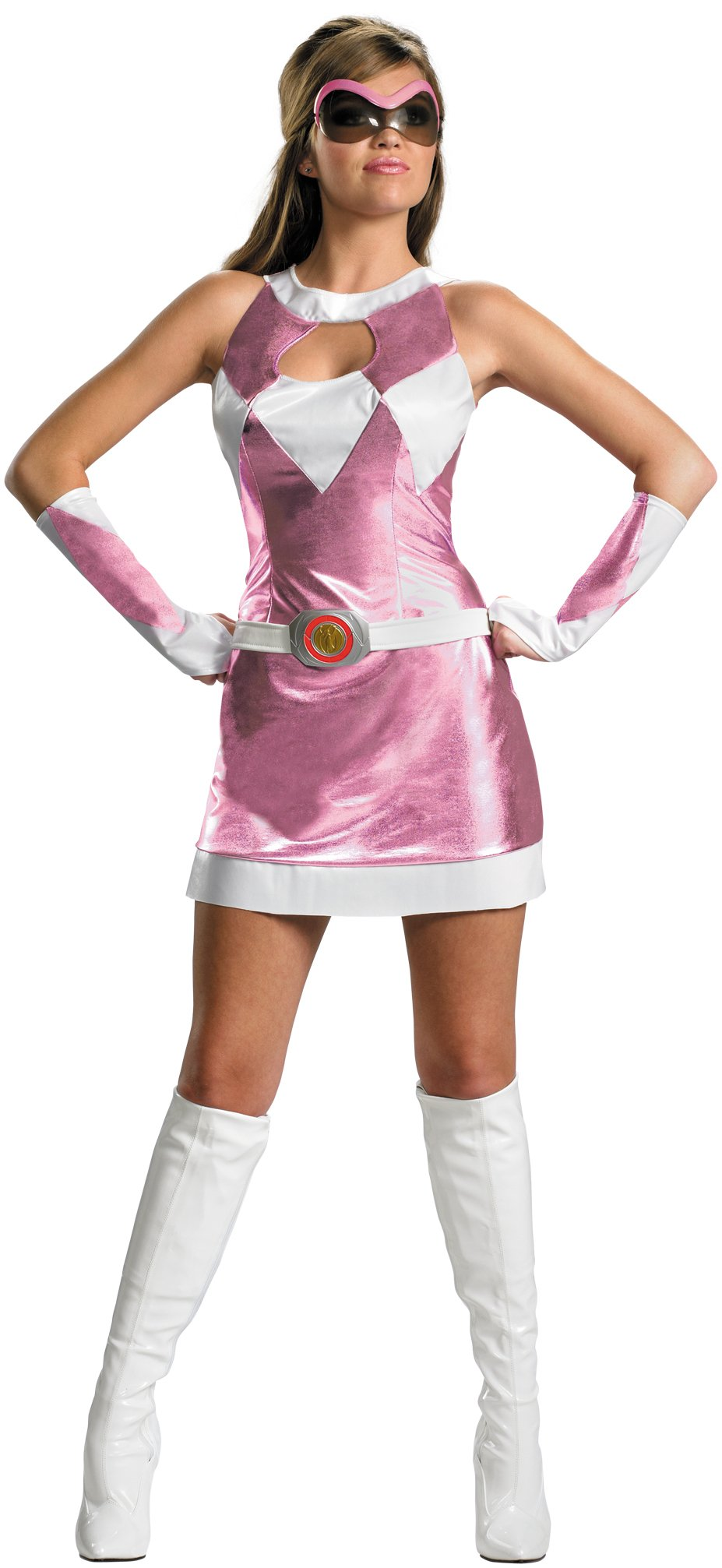 Mighty Morphin Power Rangers - Pink Ranger Sassy Deluxe Adult Co