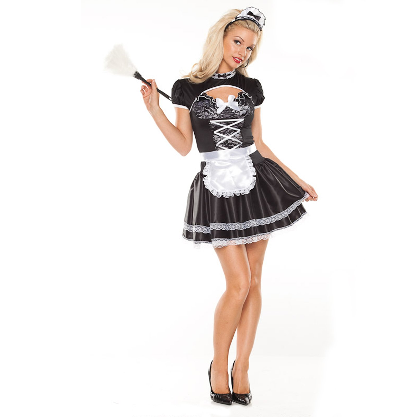 Flirty French Maid Adult Costume