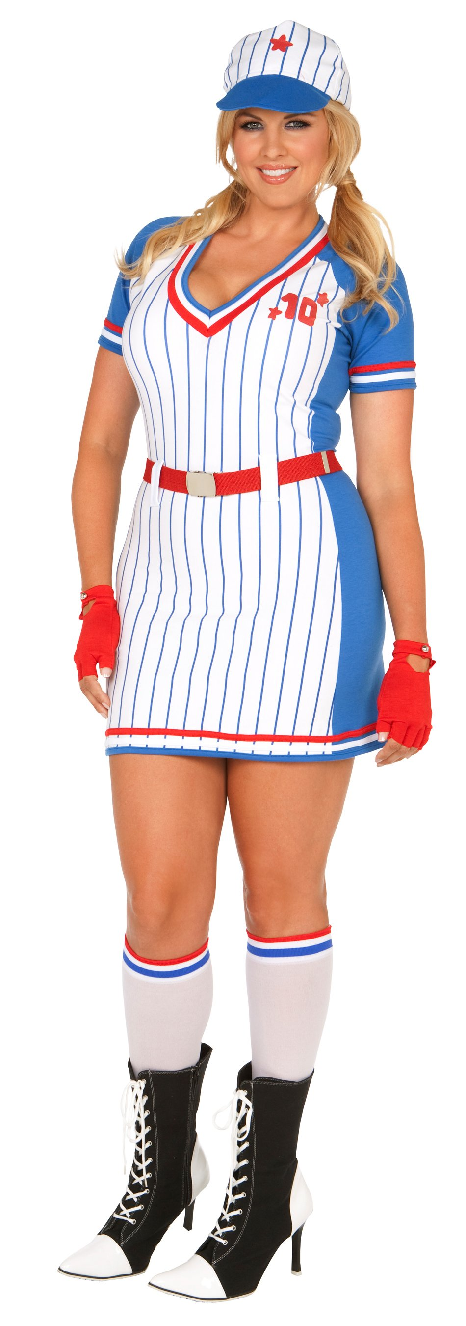 All American Player Adult Plus Costume