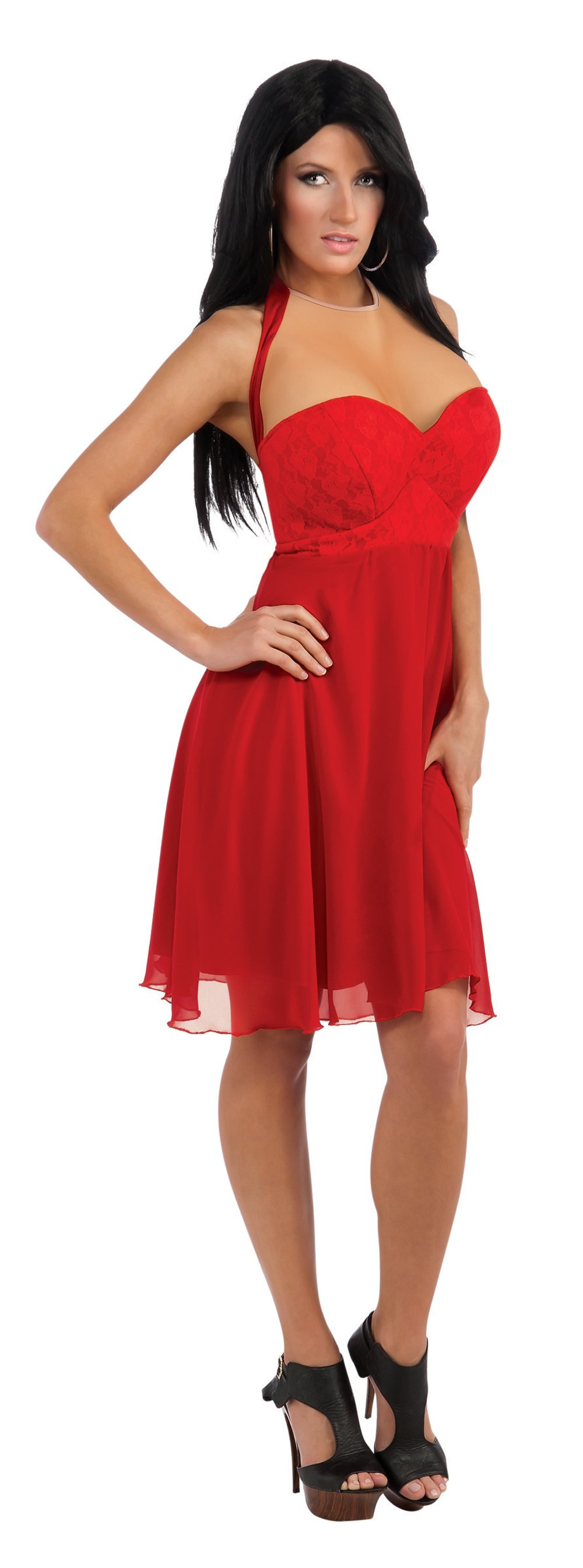 Jersey Shore JWoWW Red Dress Adult Costume