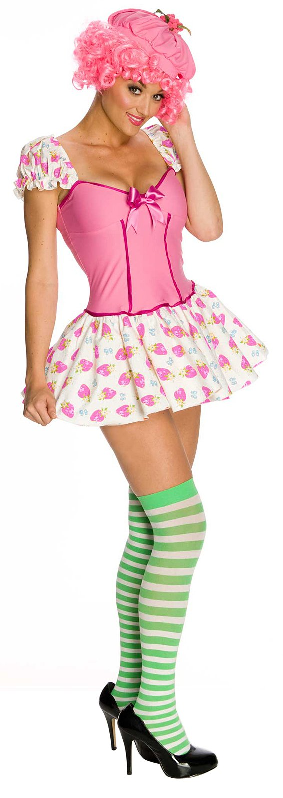 Strawberry Shortcake - Rasberry Tart Adult Costume