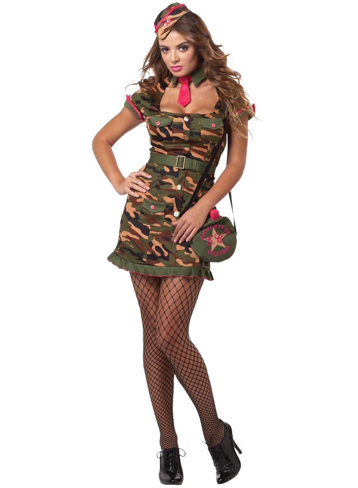 Sexy Private First Class Adult Plus Costume