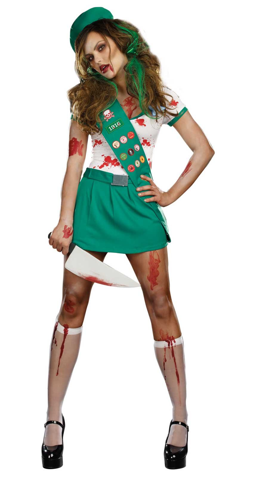 Sexy girl scout halloween costume your