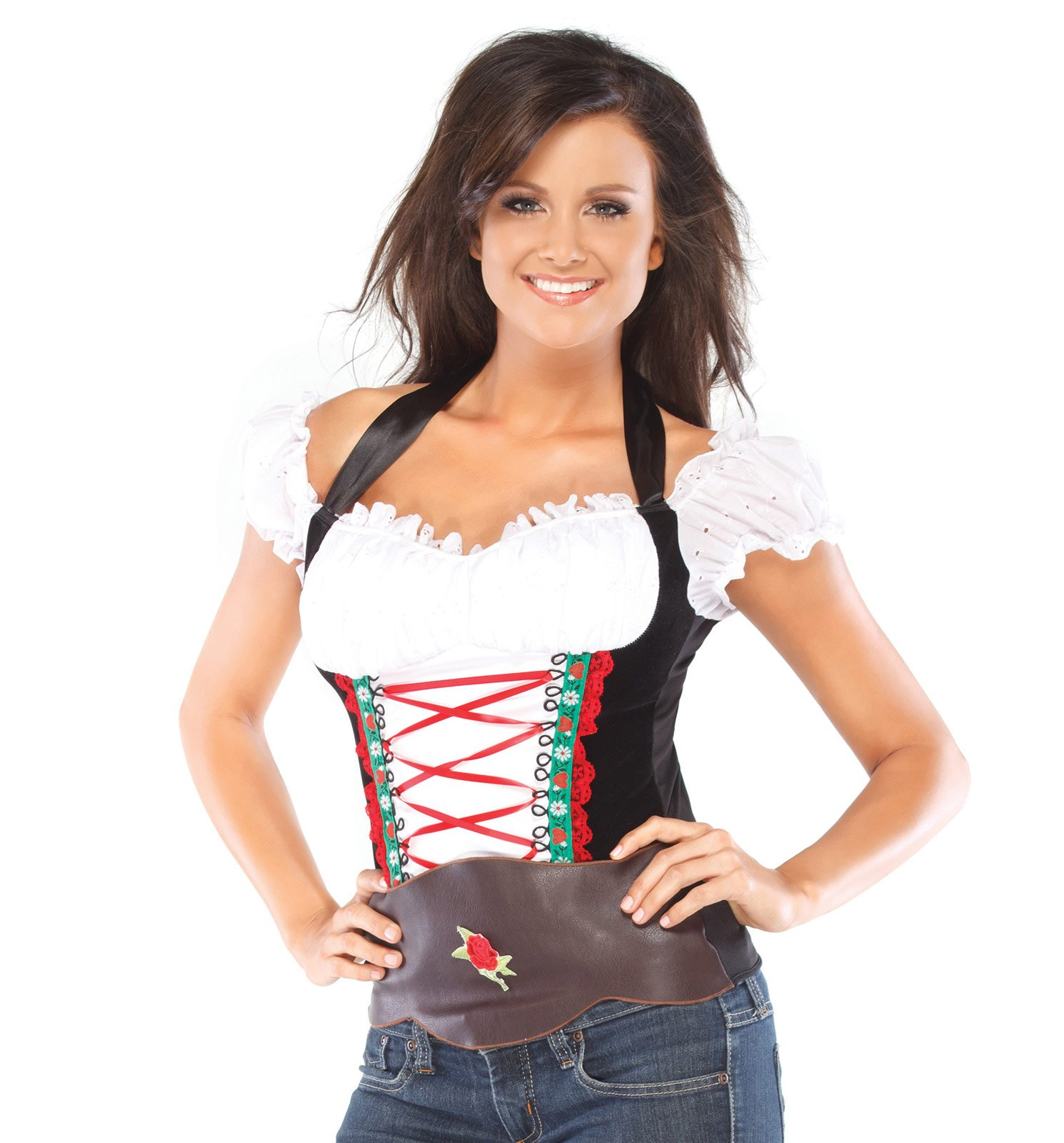 Gorgeous Beer Girl Bustier Adult Costume