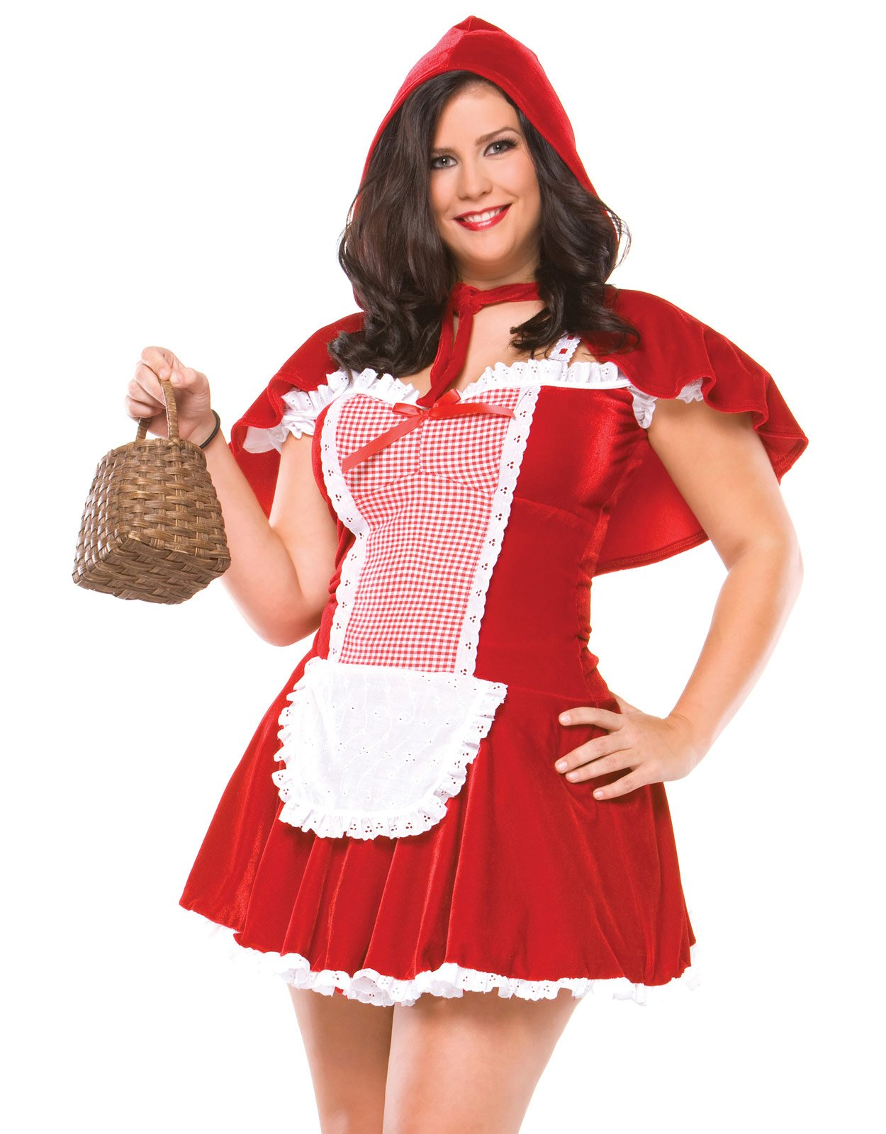 Sexy Red Riding Hood Adult Plus Costume