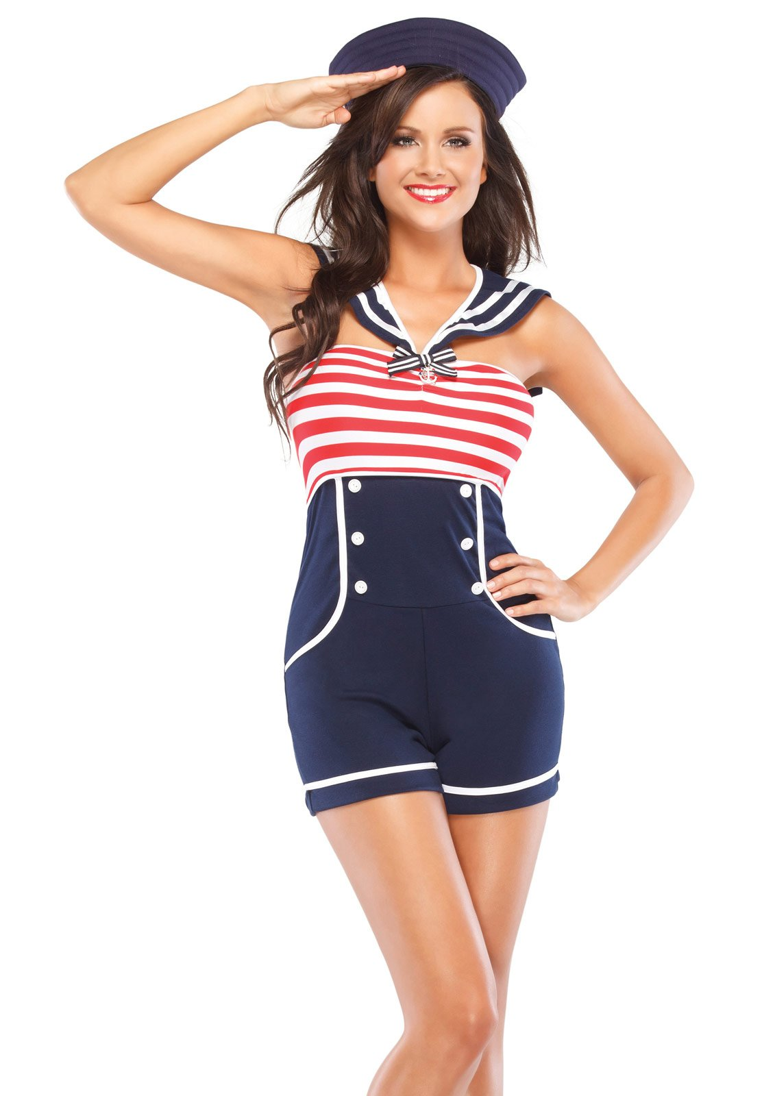 Beauty Pin Up Sailor Adult Costume