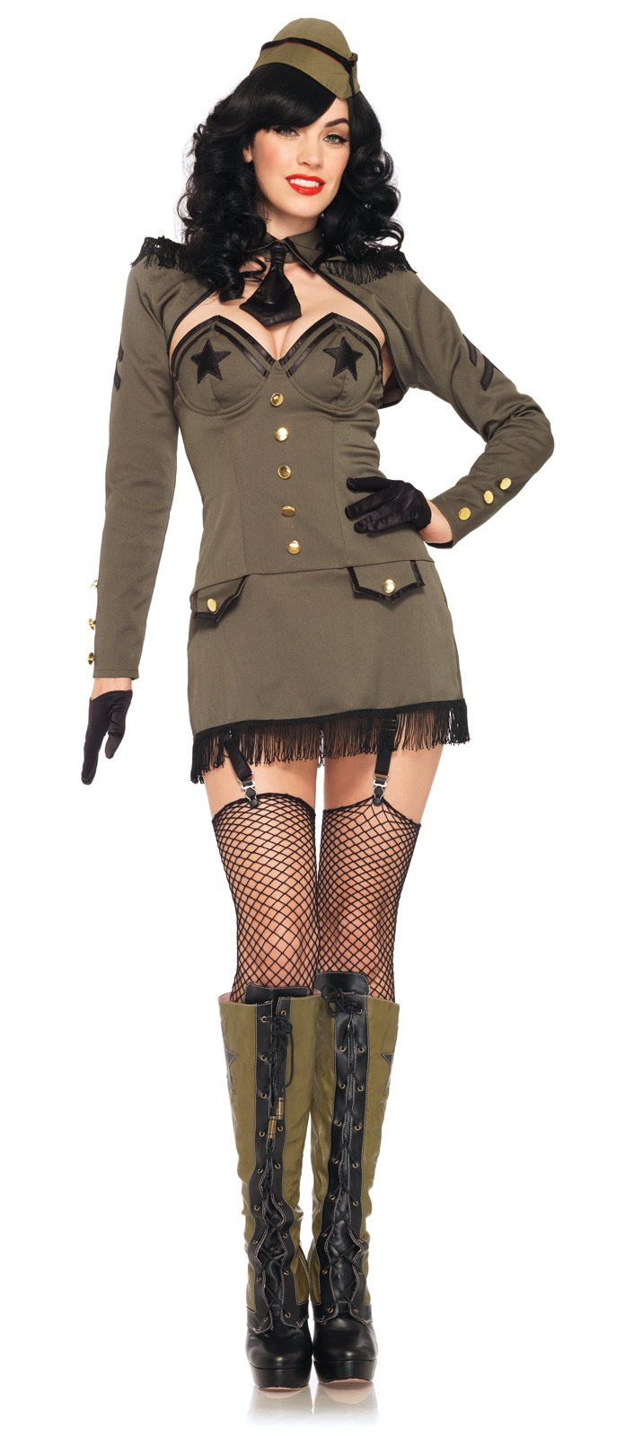 Pin Up Army Girl Adult Costume
