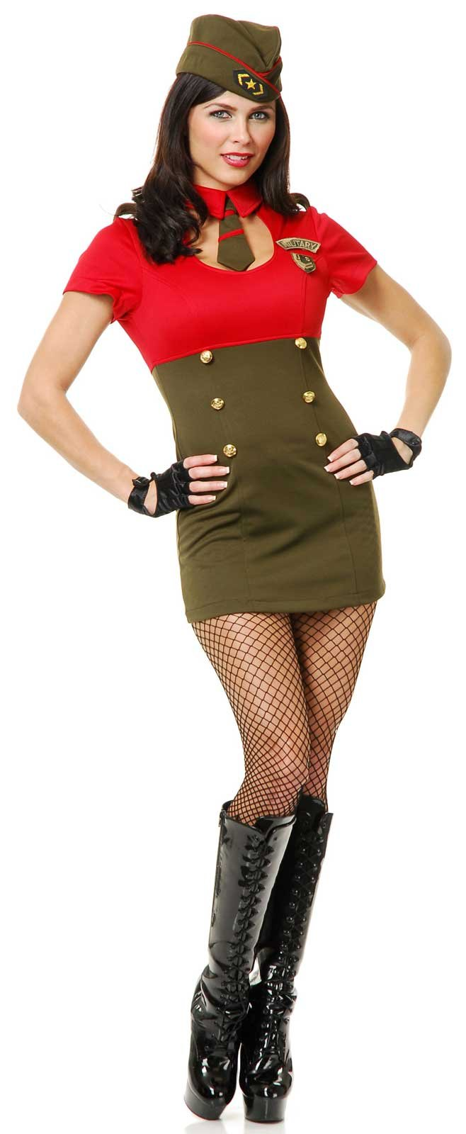 Beautyful Army Babe Adult Costume