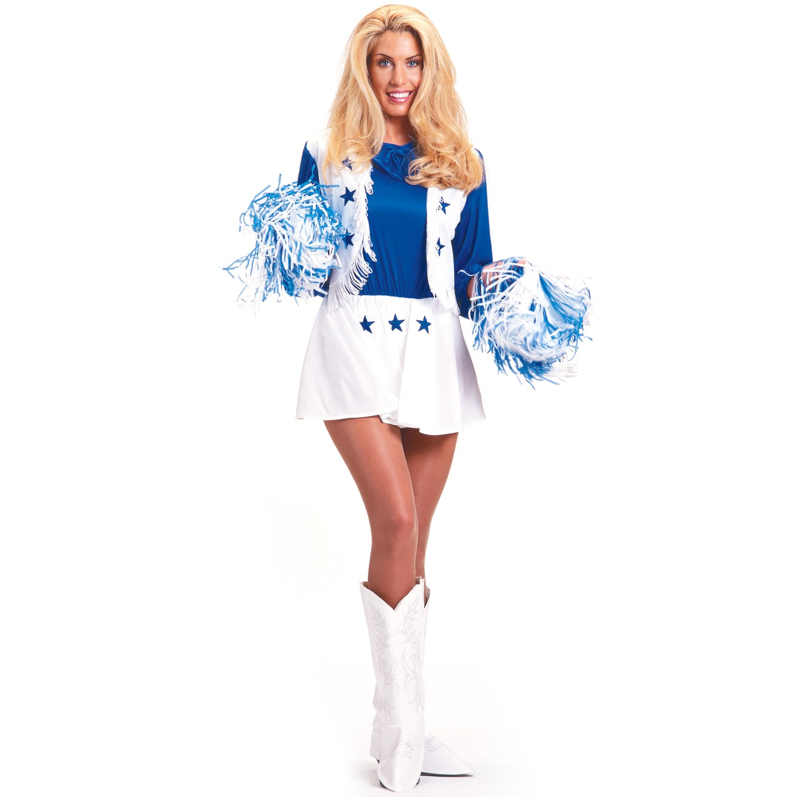 1970s Dallas Cowboys Cheerleaders http://www.aboutcostume.com/dallas-cowboys-cheerleader-adult-p-5262.html