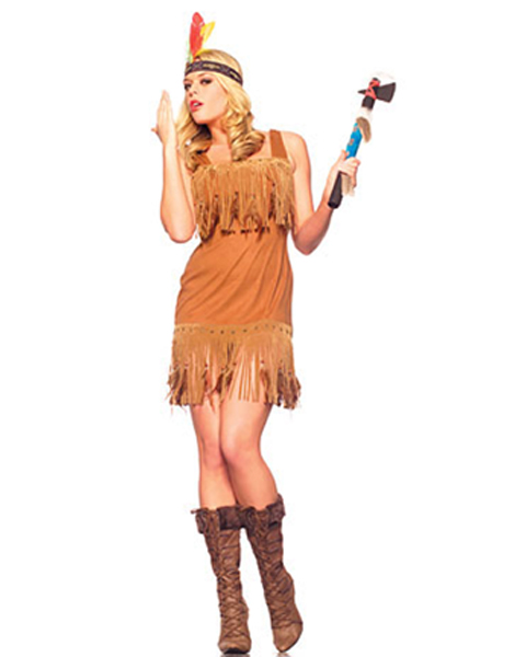 Adult Sexy Native American Princess Costume