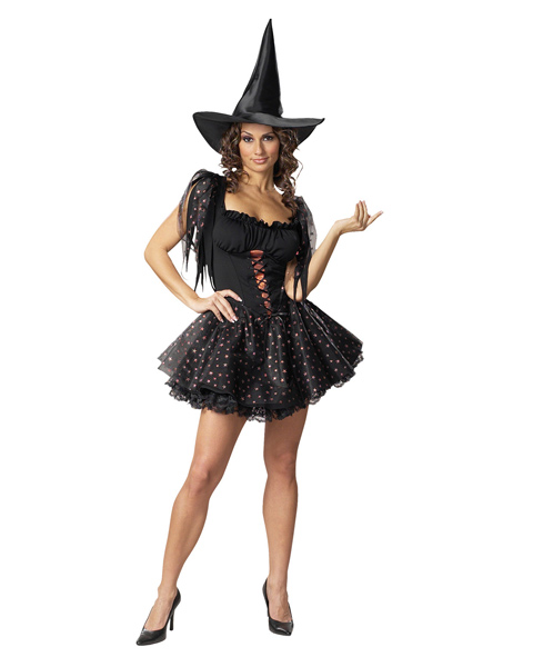 Glitter Witch Costume for Women