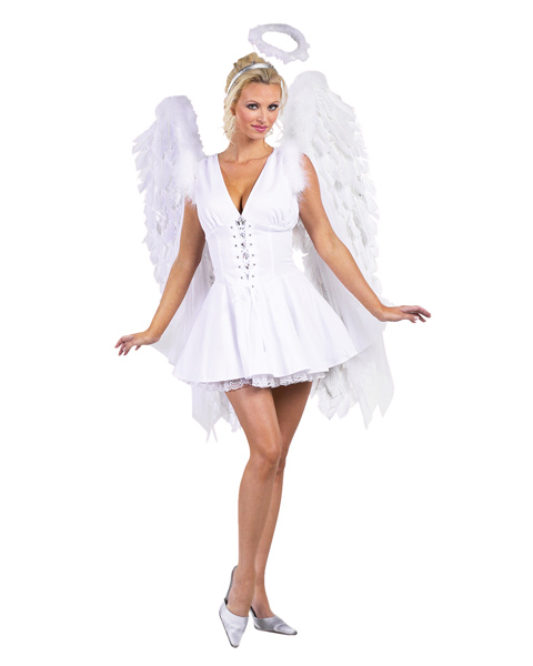 Adult Heavenly Angel Corset Costume