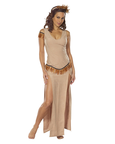Sexy Adult Indian Maiden Costume