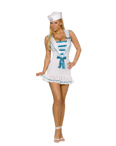 Womans Sexy Shore Thing Sandy Costume