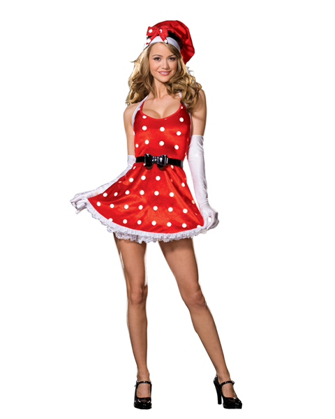 Holiday Pin-Up Costume