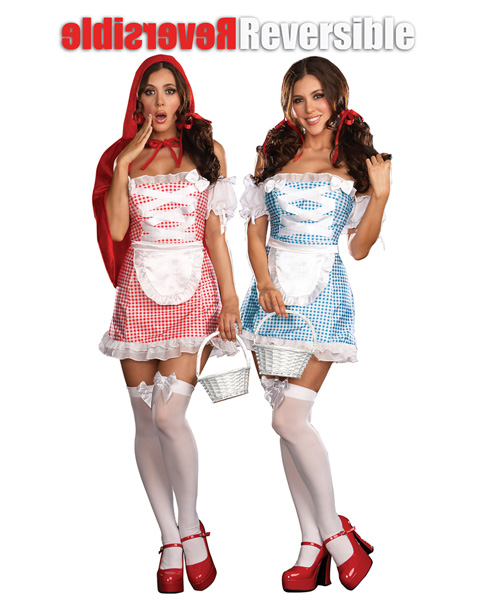 Happily Ever After Reversible Red Riding Hood & Dorothy Costume