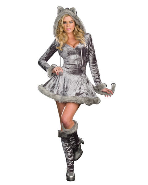 Women's Plus Size Big Bad Sexy Wolf Costume