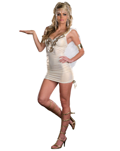 Sexy Touched By Venus Women's Greek Goddess Costume