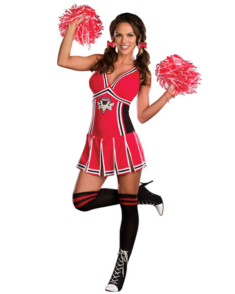 Sexy Gotta Score Women's Cheerleader Costume