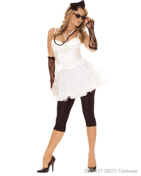 Women's Rock Star Sexy Costume