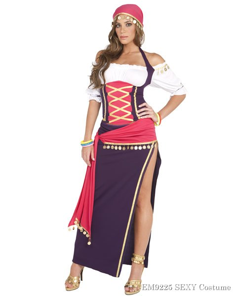 Women's Gypsy Maiden Sexy Costume
