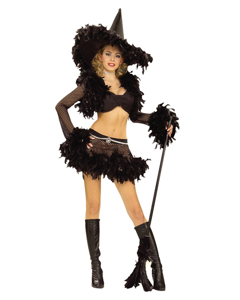 Adult Sultry Sexy Witch Costume