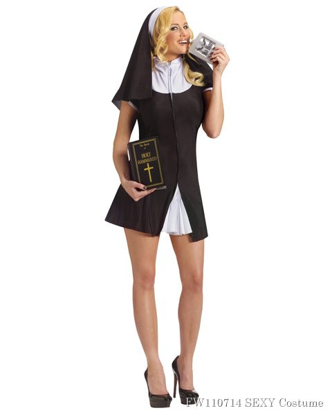 Women's Bad Habit Sexy Costume