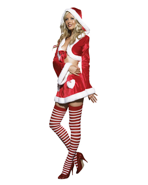 2pc. Cutie Claus Costume