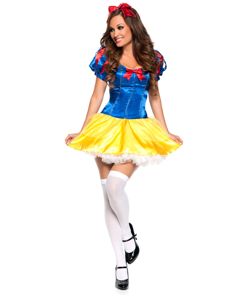 Womens Sexy Lovely Snow White Costume