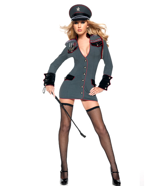 Womens Sexy General Perversion Costume