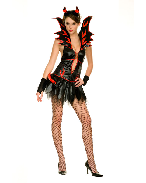 Adult Flirty Fire Devil Costume