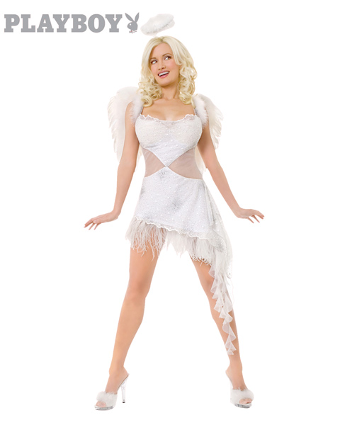 Adult Size Playboy Hughs Nice Angel Costume