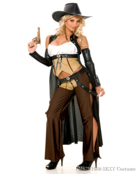 Sexy Wanted Sexy Cowgirl Costume