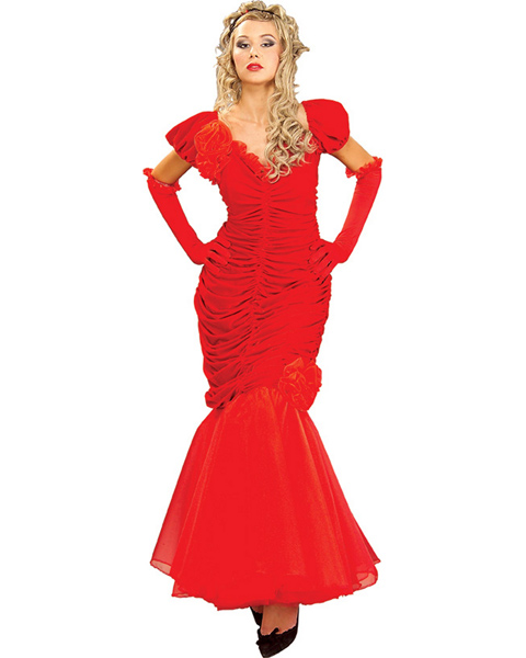 Red Scarlet Dress Costume For Women