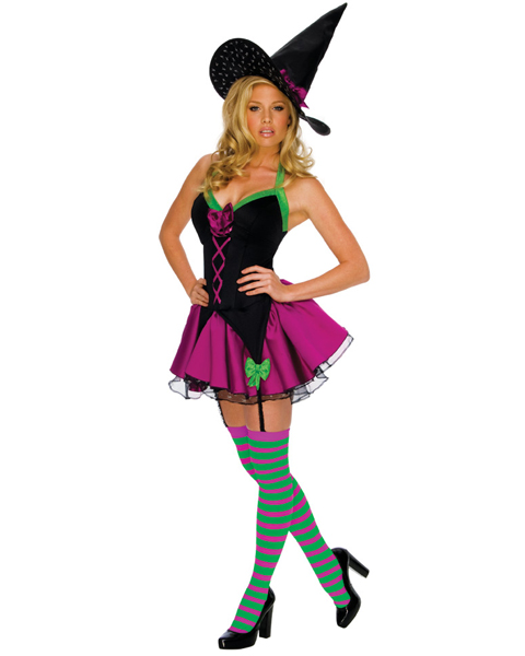 Womens Playboy Sexy Sparkle Witch Adult