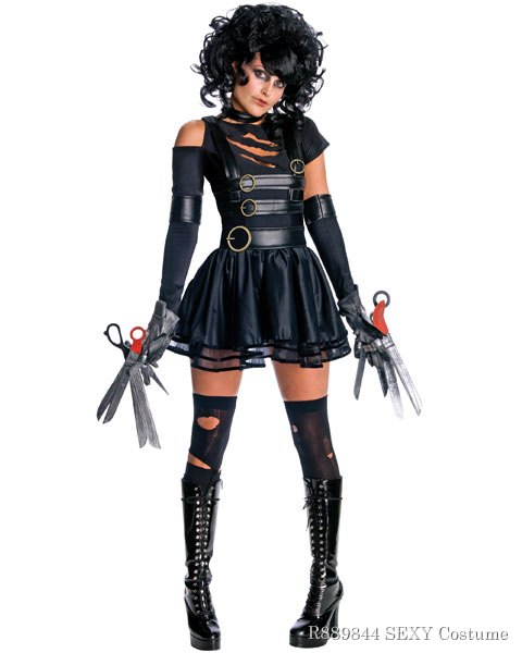 Womens Miss Edward ScissorHands Sexy Costume