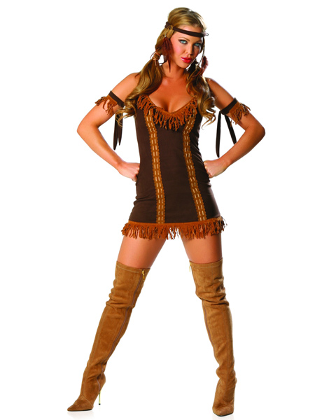 Adult 3-PC Indian Princess Costume