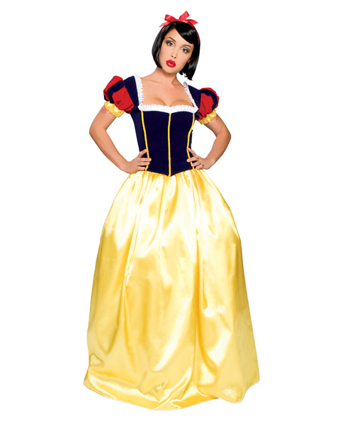 Sexy Snow White Deluxe Womens Costume - Click Image to Close