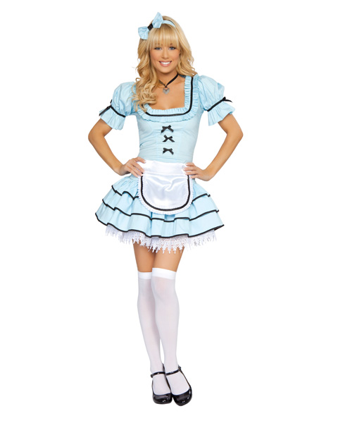 Sexy Alice in Wonderland Looking Glass Womens Costume