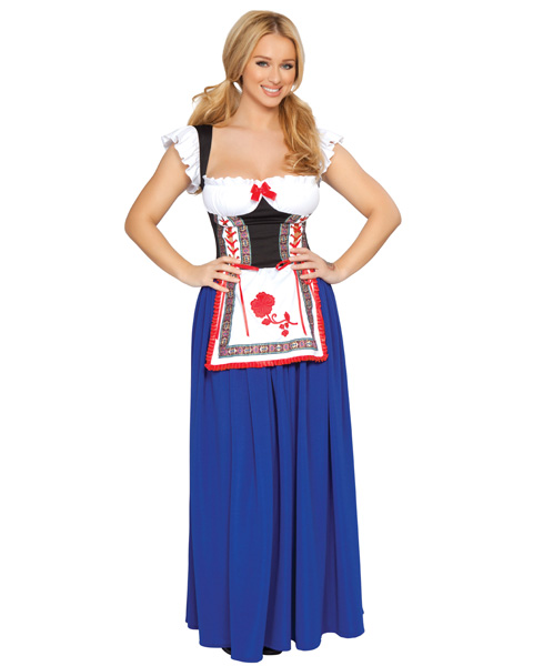 Sexy Adult Alpine Beer Wench Costume