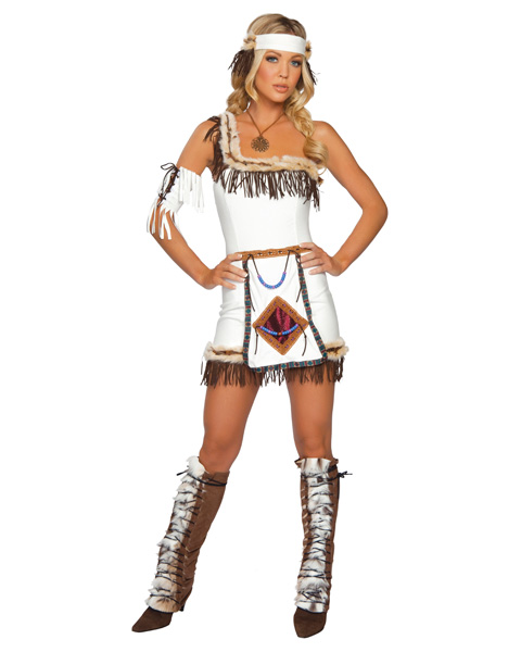Sexy Indian Chief Womens Costume