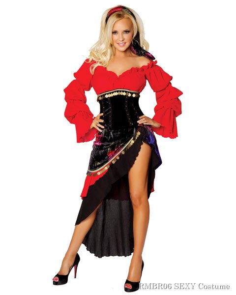 Deluxe Sexy Bridget by Roma Gypsy Women's Costume