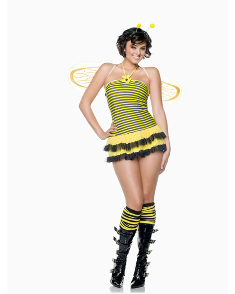 Adult Midnight Stinger Bumblebee Costume