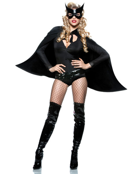 Sexy Caped Crusader Womens Costume