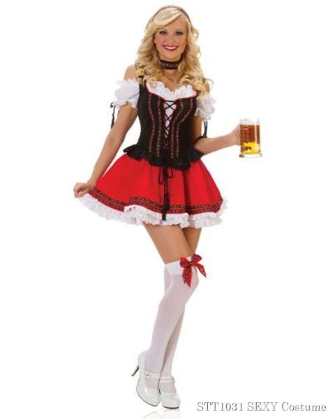 Sexy Swiss Girl Womens Beer Girl Costume